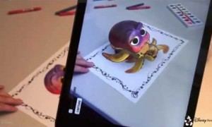 Augmented Reality Colouring Books